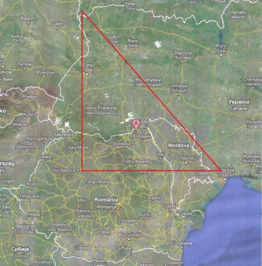 Golden Triangle of Karaite Settlements