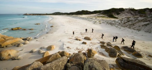 The Bay of Fires - Just one of the many places you can discover when visiting Tasmania.