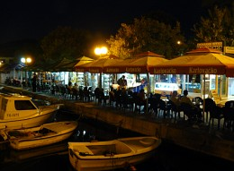 A late night bar