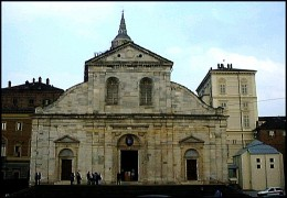 Cathedral of St. John the Baptist in Turin  where the Turin Shroud now resides