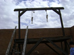 THE GALLOWS (its more dramatic in all Caps)
