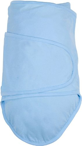 Miracle blankets help baby sleep.