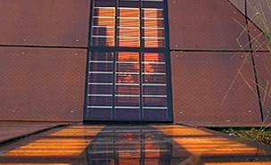See-through Solar windows
