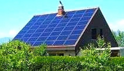 Solar roofing materials