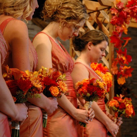 There are so many amazing ideas for fall weddings and for the DIY bride and
