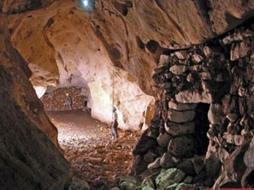 Mayan ancient tunnel