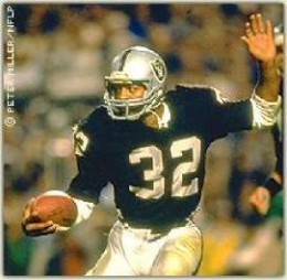 Los Angeles Raiders No 32 Marcus Allen
