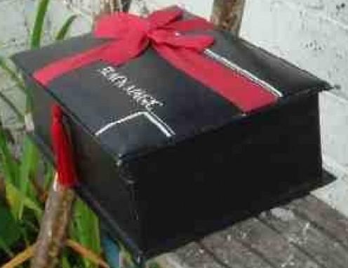 Vintage Black Magic Chocolate Box