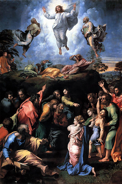 The Transfiguration of Christ, Raphael (1483-1520)