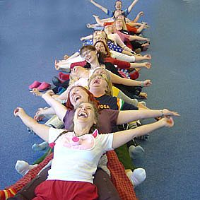 Doesn't Laughter Yoga look like fun?!