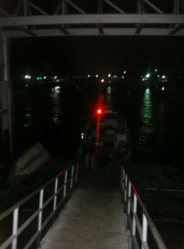 Walkway to the Speed Boat