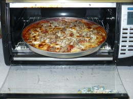 you can make a pizza in a convection oven