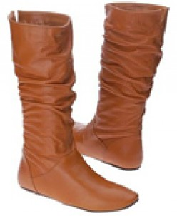 Slouch Brown Boots