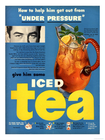 Iced Tea, USA, 1950