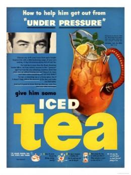 Iced Tea, USA, 1950