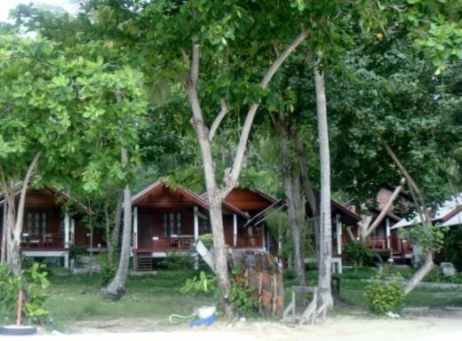 Adjoining bungalows