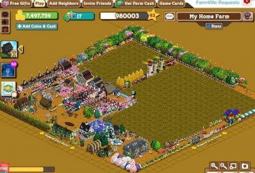 My first Farmville Farm