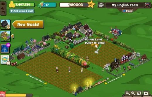My second Farmville Farm
