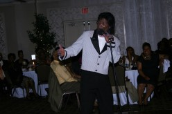 The multi-talented CP Lacey, also does an amazing imitation of the talented entertainer, James Brown.
