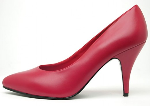 High heels might look great, but ouch! Check that they don't hurt your back.