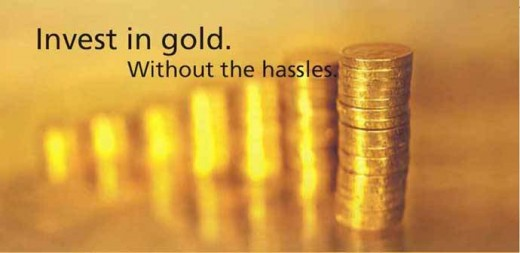 now you can invest in gold without having to worry about the hassles