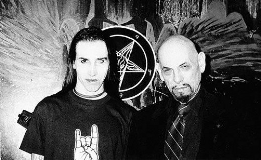 LaVey and Manson met in 1994.