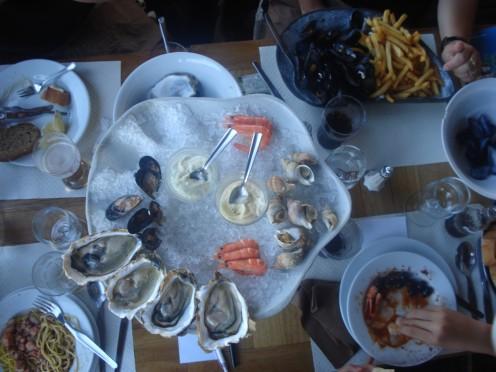 Aux Coquillages de Diana, Aleria, Corsica, France