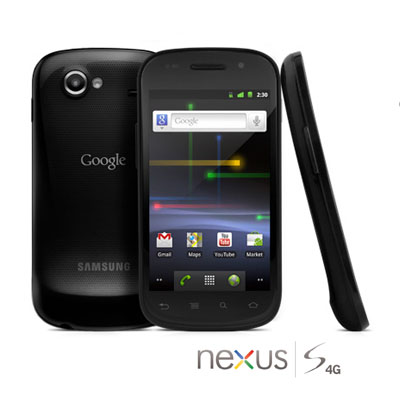 Nexus S 4G by Google, a pure Google experience brought to you by Samsung and Sprint, now with 4G speeds!