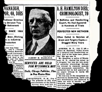 Albert H. Hamilton - the most dangerous man in America