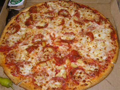 this is just one of many delicious pizzas papa john's can offer for your tongue to taste