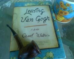 Van Gogh pipe and mug with novel