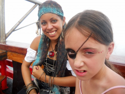 Paint on your Pirate Face with Angry Angie, AARRGH!