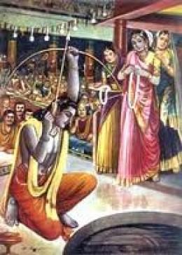swayamvara from Mahabharta