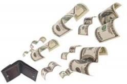 Budget failure can lead to money disappearing before you know it.