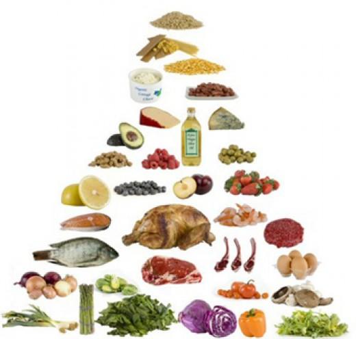 Alternative food pyramid