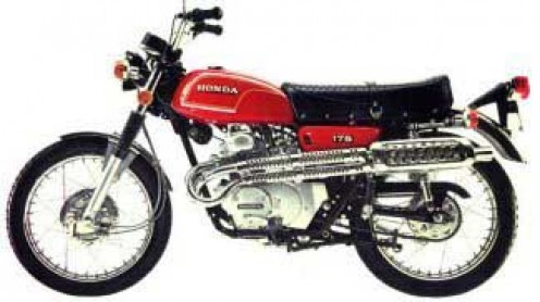 1972 Honda 175cc Scrambler