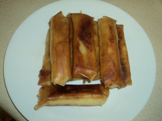 Banana Lumpia Ready For Snack