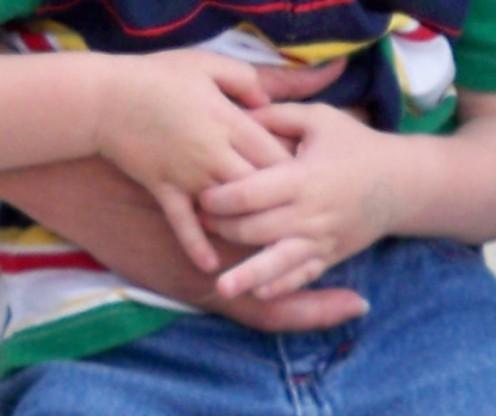 Precious hands!