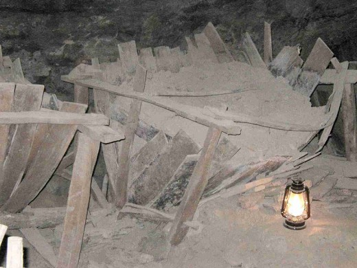 Saltpeter vat WVA Cave