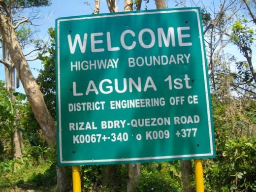 Welcom Laguna