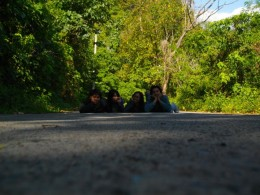 Lying in the Road????