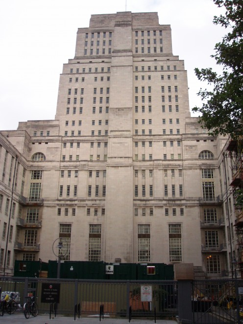 Senate House, University of London, Malet Street, London, WC1