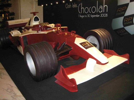 F1 Race Car at Royal Plaza on Scotts