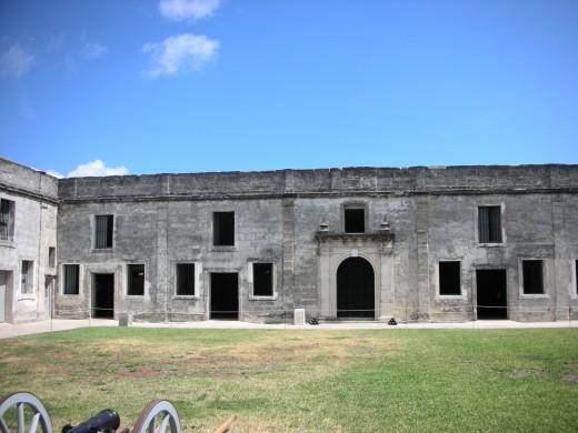Inside Castillo de San Marcos