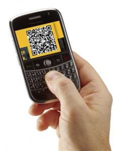 Scan the QR Code with your Cell Phone