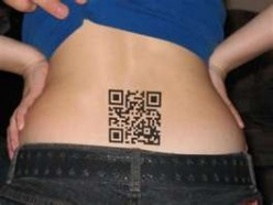 QR Code Tattoo On My Body?