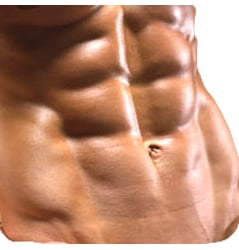 Follow these 4 simple steps and you'll have abs like this in no time flat.
