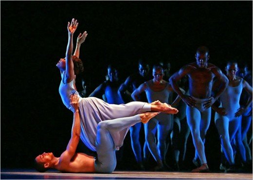 Alvin Ailey Dancers fascinate by the freedom of movement