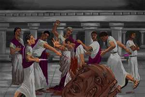 Julius Caesar's assassination was the greatest betrayal of all.