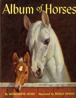 My copy of the Album of Horses.